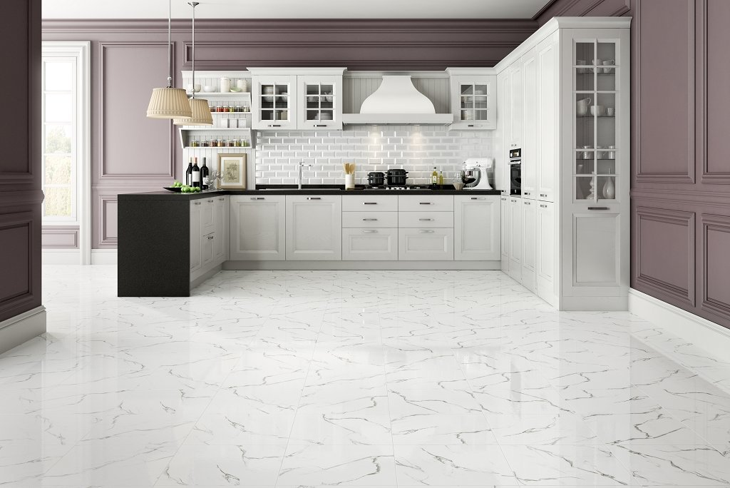 classic marble white Белый